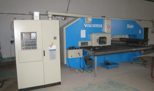 Taiwan and Taiwan Lai Fu VISE1250 CNC punch press